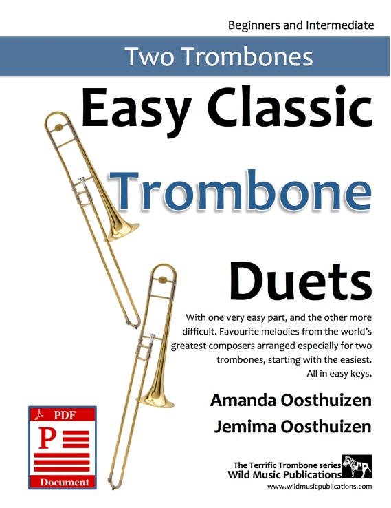 Easy Classic Trombone Duets Download
