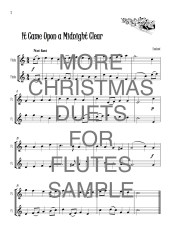 More Christmas Duets for Flutes web sample