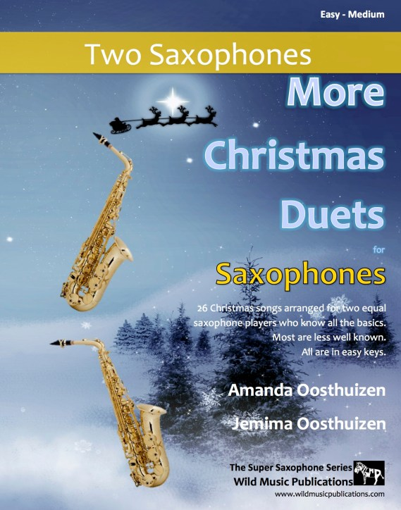More Christmas Duets for Saxophones