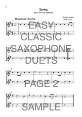 Easy Classic Saxophone Duets Web Sample