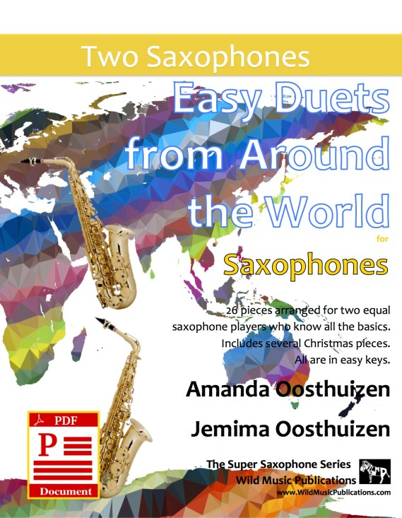 Easy Duets from Around the World for Saxophones Download