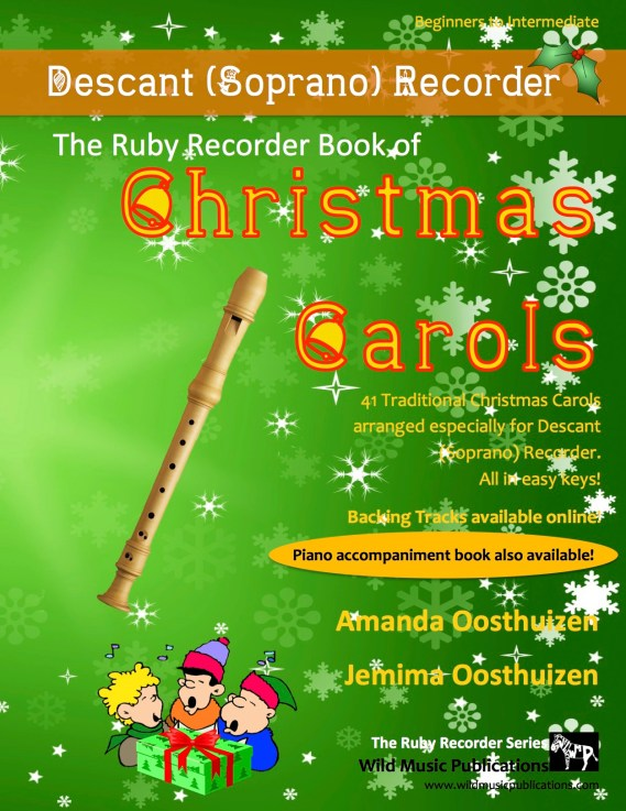 The Ruby Recorder Book of Christmas Carols