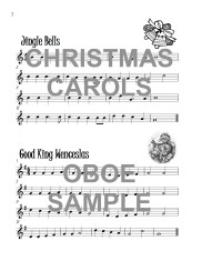 The Excellent Oboe Book of Christmas Carols Web Sample