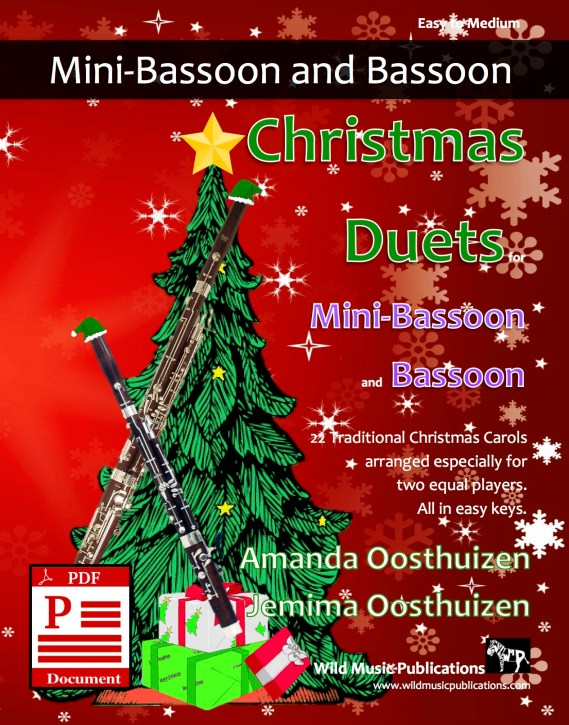 Christmas Duets for Mini-Bassoon and Bassoon Download