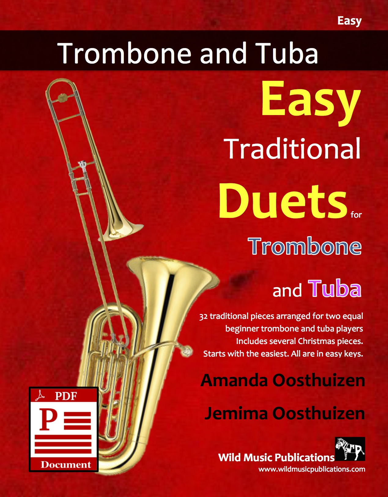 Easy Traditional Duets for Trombone and Tuba Download
