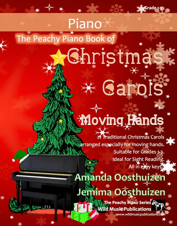 The Peachy Piano Book of Christmas Carols for Moving Hands