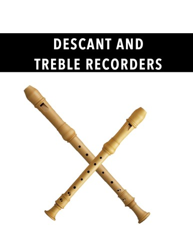 Descant and Treble Recorders