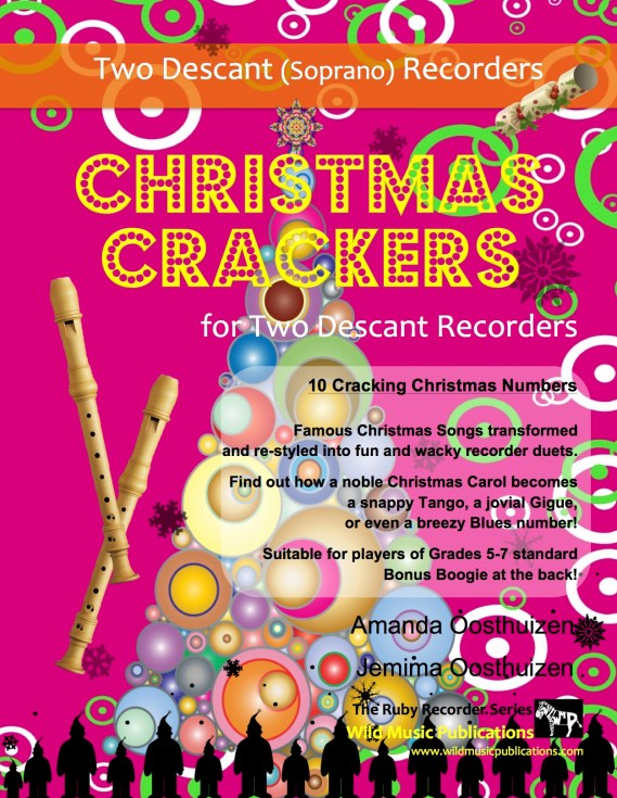 Christmas Crackers for Two Descant Recorders