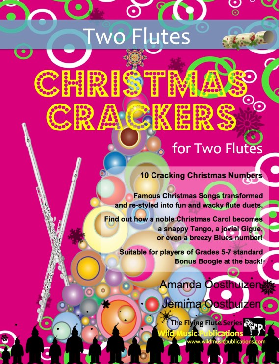 Christmas Crackers for Two Flutes