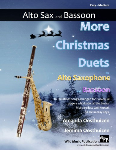 More Christmas Duets for Alto Saxophone and Bassoon