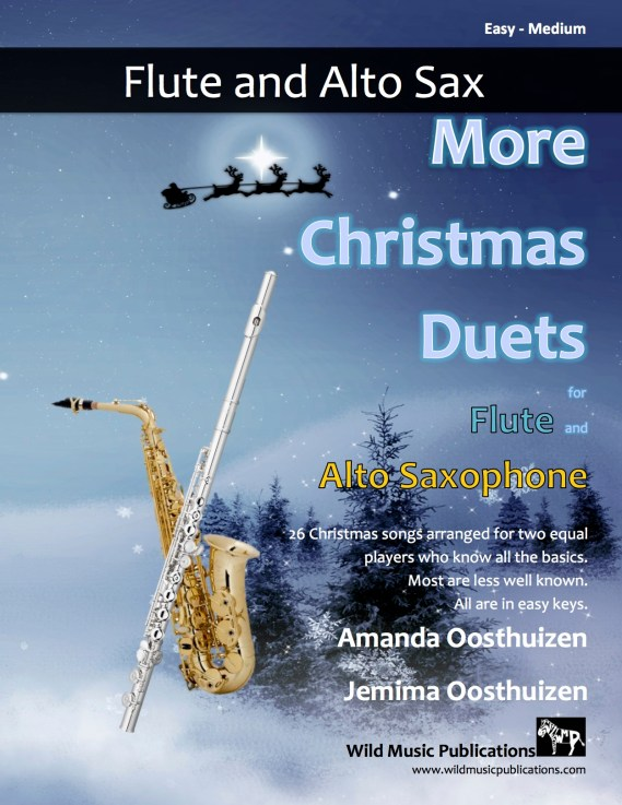 More Christmas Duets for Flute and Alto Saxophone