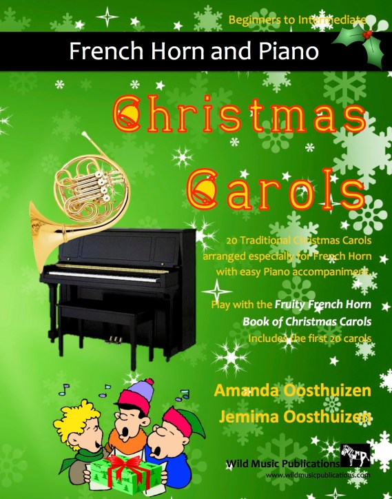 Christmas Carols for French Horn and Easy Piano