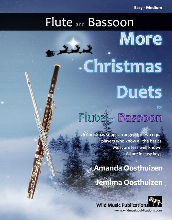 More Christmas Duets for Flute and Bassoon