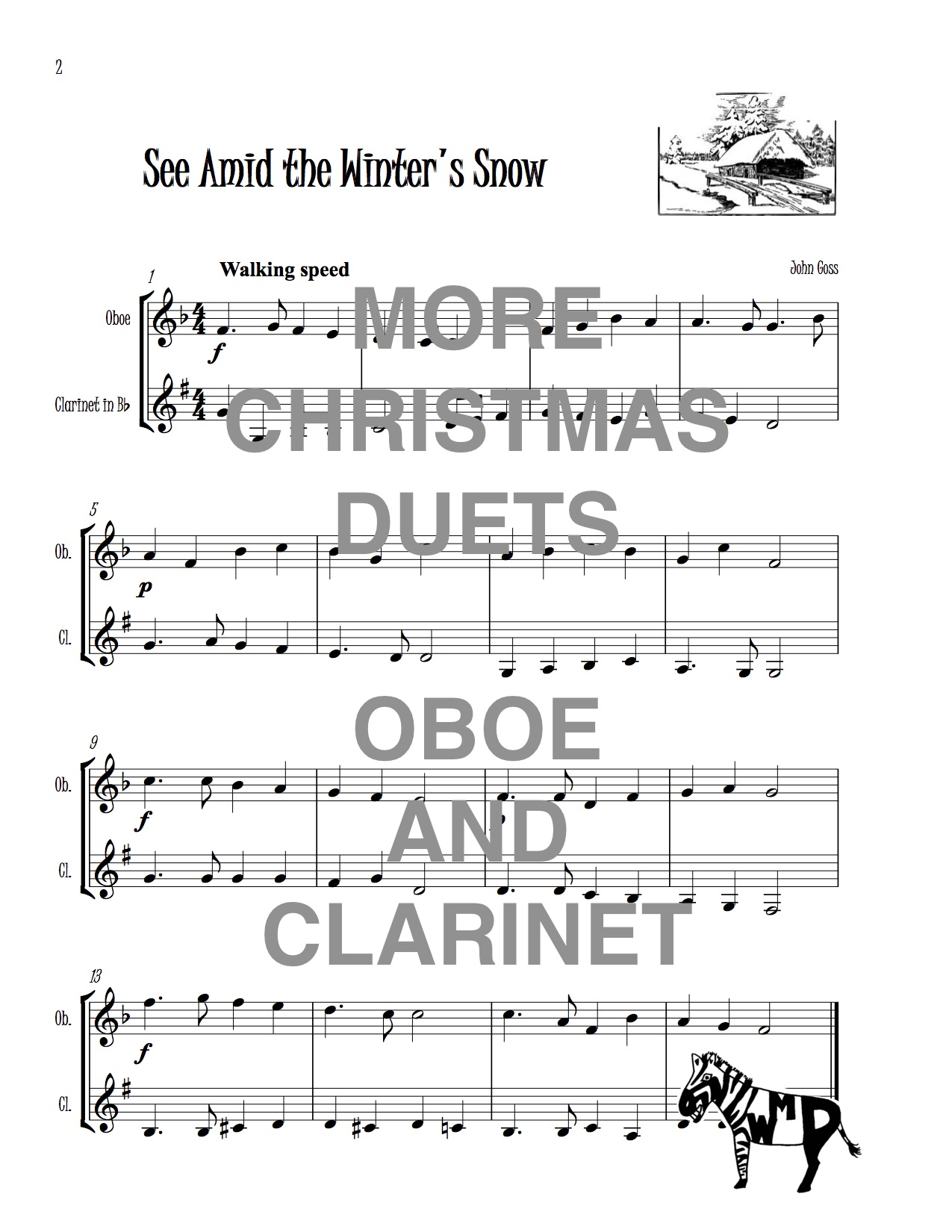 Clarinet Christmas Music.More Christmas Duets For Oboe And Clarinet Download