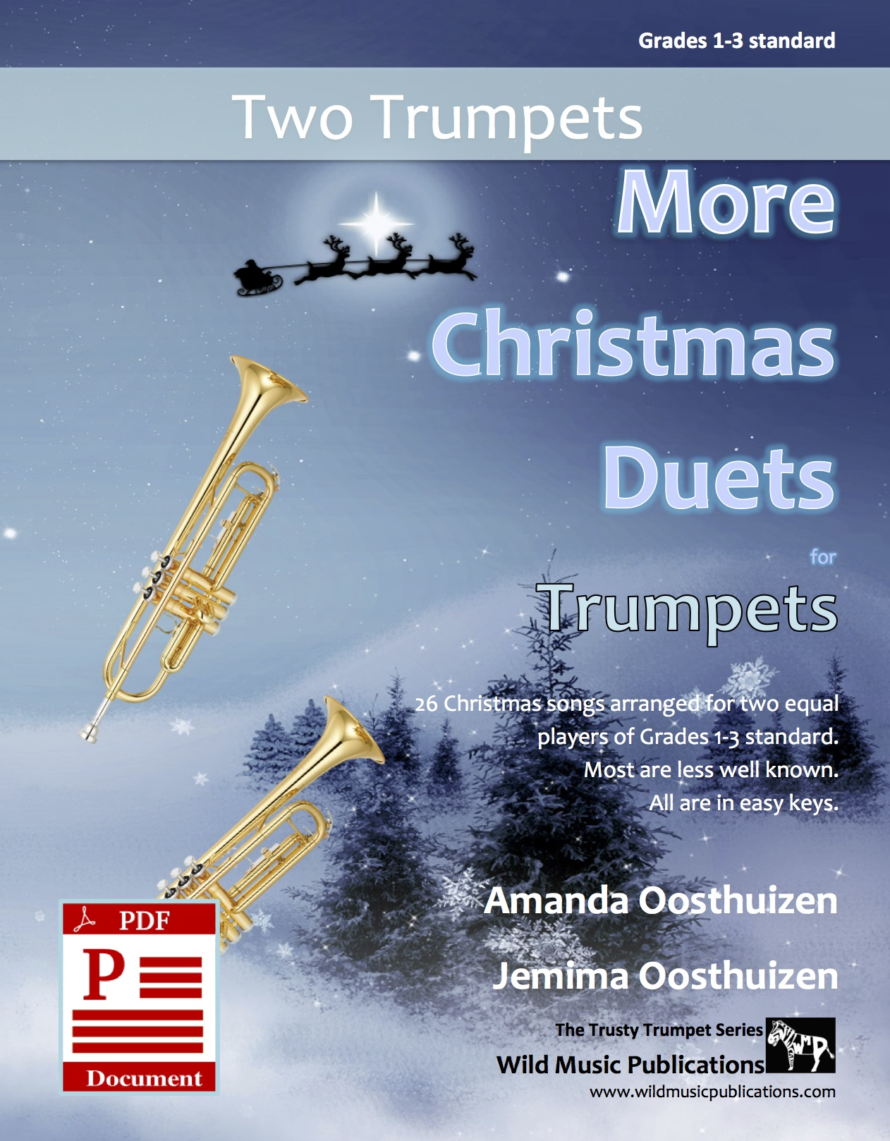 More Christmas Duets for Violas Download