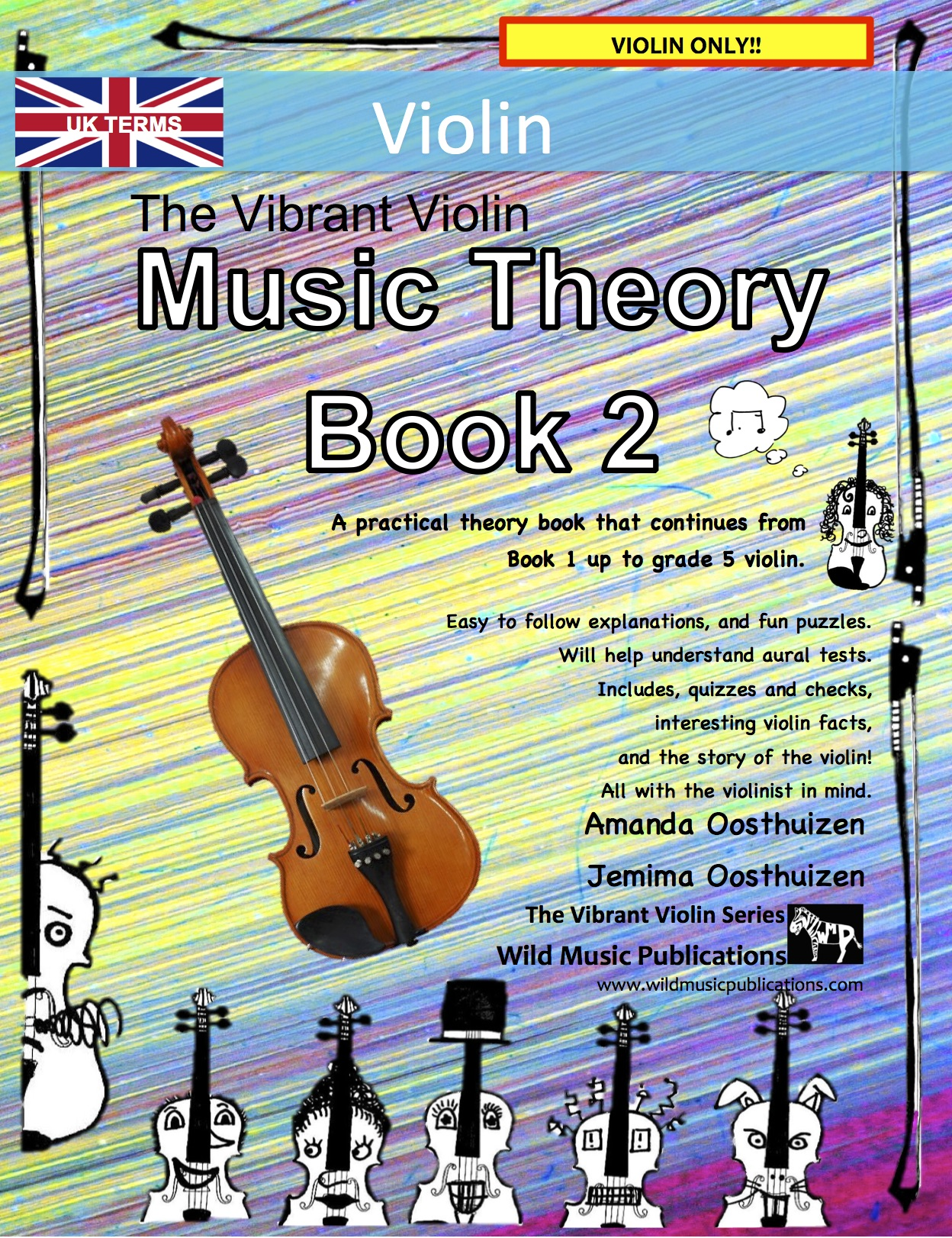 The Vibrant Violin Music Theory Book 2