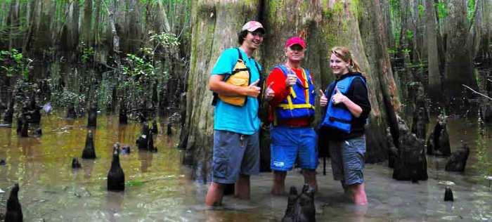 Champion Cypress Kayak Adventure