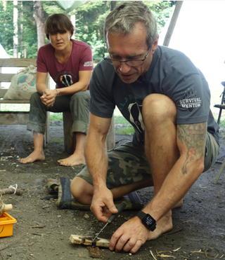 survival trainer Hans und Sandra