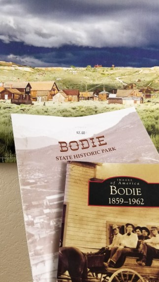 Bodie ghost town books textile wall art