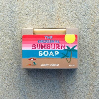 The Original Sunburn Soap on Sand