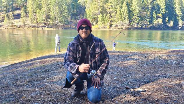 This local fishing spot is a secret but illustrates the effectiveness of using an app or word of mouth to uncover beautiful, hidden locations.