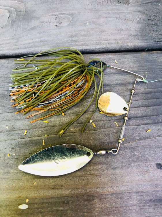 Spinners play a huge role when imitating bait fish. These lures are fantastic at calling big bass as their profile is big.