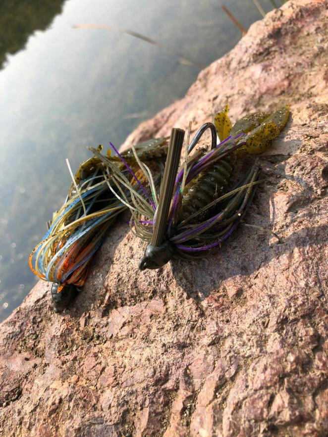 Dirty Jigs are great all-around flipping baits to use around cover.