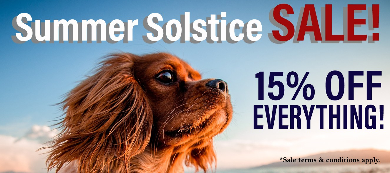 Summer Solstice Grand Opening Sale