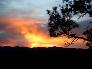 Jemez Sunset
