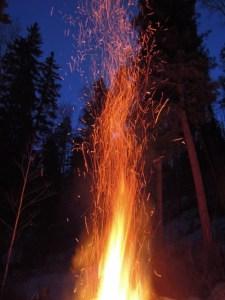 Fire Sky Sparks