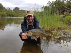 This mid 40`s Bass was a new PB for Danny