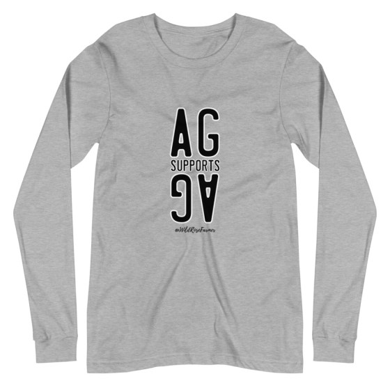 Stacked Ag Supports Ag Long Sleeve Grey