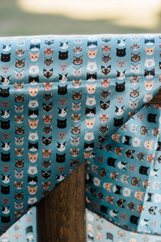 Cool Cat Wild Rag | WildRoseFarmer Wild Rag by Urban Cowgirl
