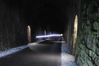 Inside the Ballyvoyle Tunnel, Waterford, Ireland