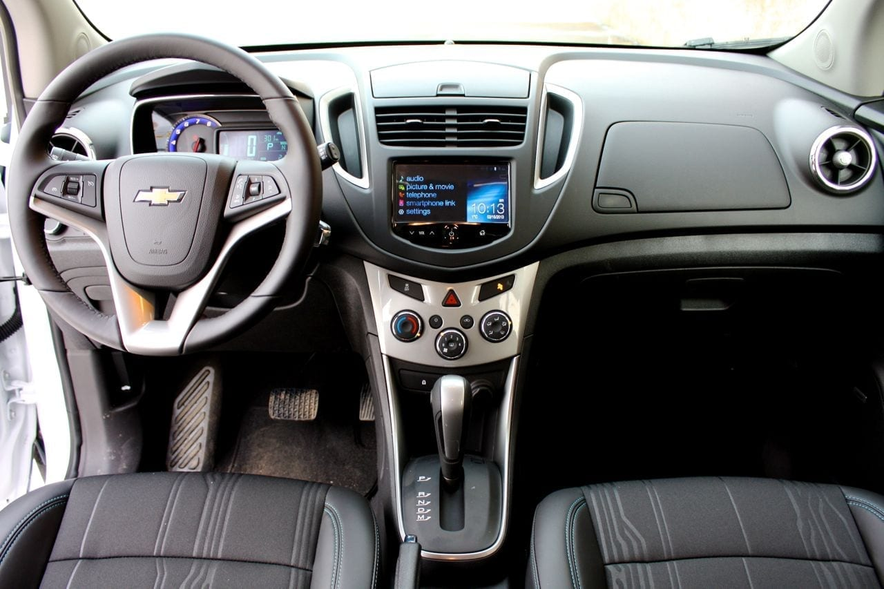 Review 2013 chevrolet trax lt wildsau the seats fabric with a nice tron like pattern on them and trimmed in leatherette are very comfortable they could benefit from some more bolstering sciox Gallery