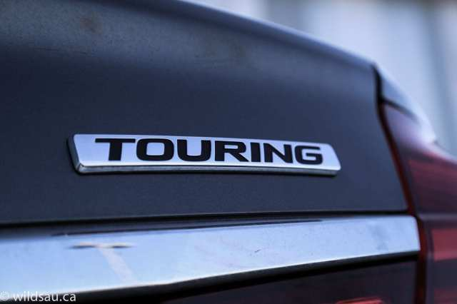 touring badge