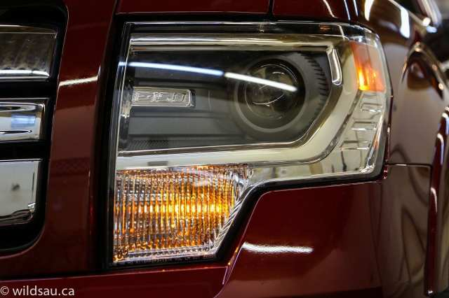 limited headlight detail