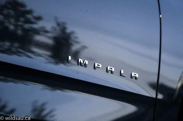 impala cowl badge