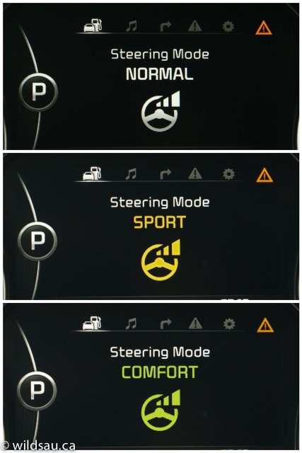 steering modes