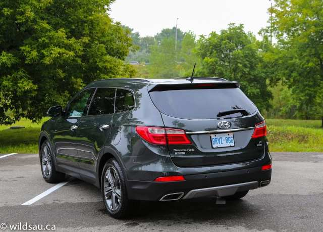 Santa Fe XL rear quarter