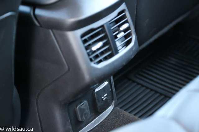 rear console
