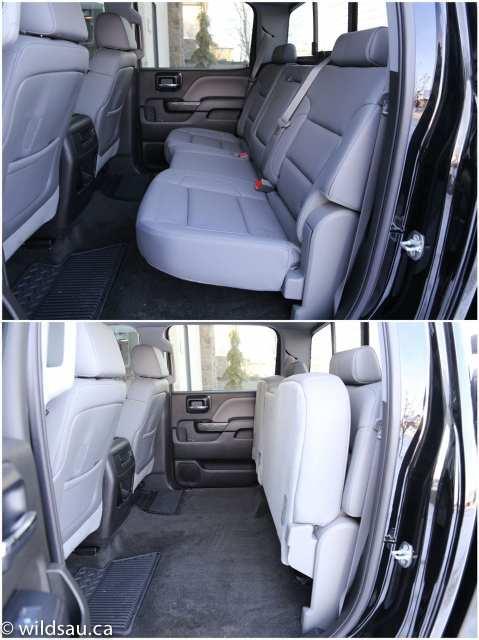 GMC rear seats