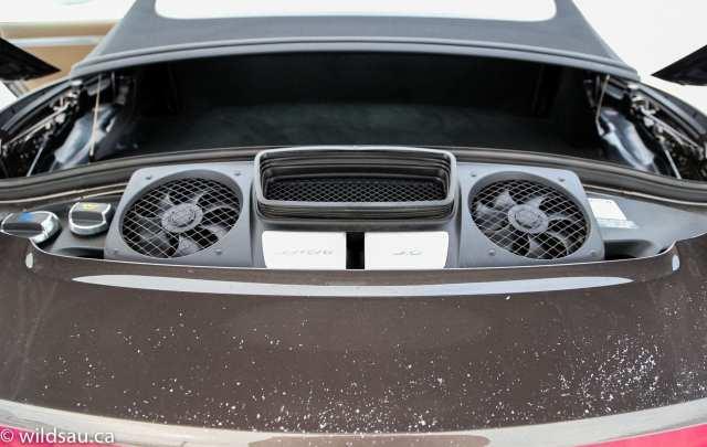 rear hood open