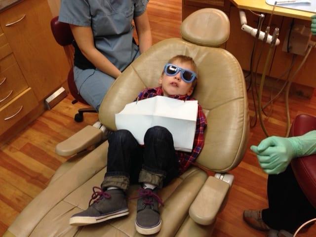 Andon at dentist