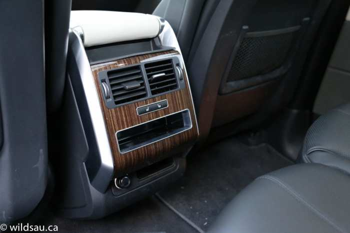 rear seat console