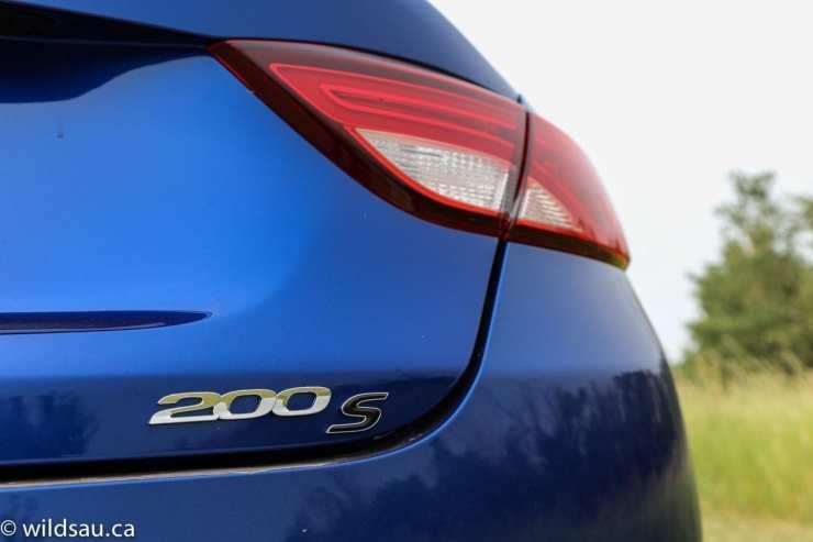 200S badge