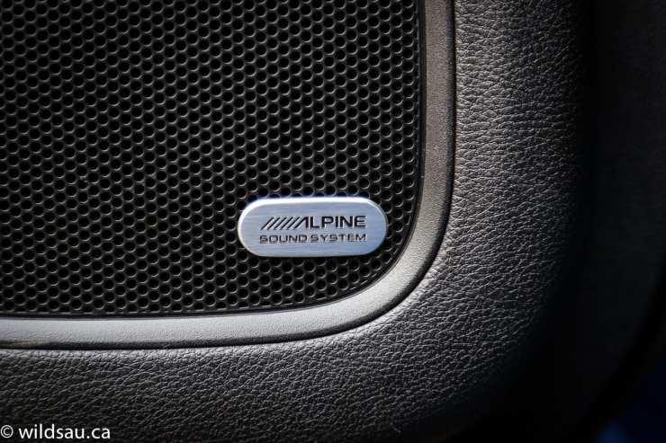 Alpine stereo