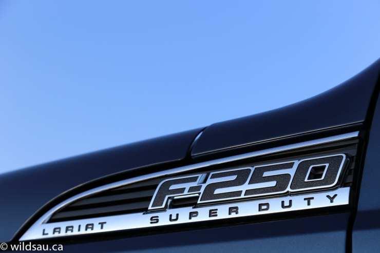 F250 badge