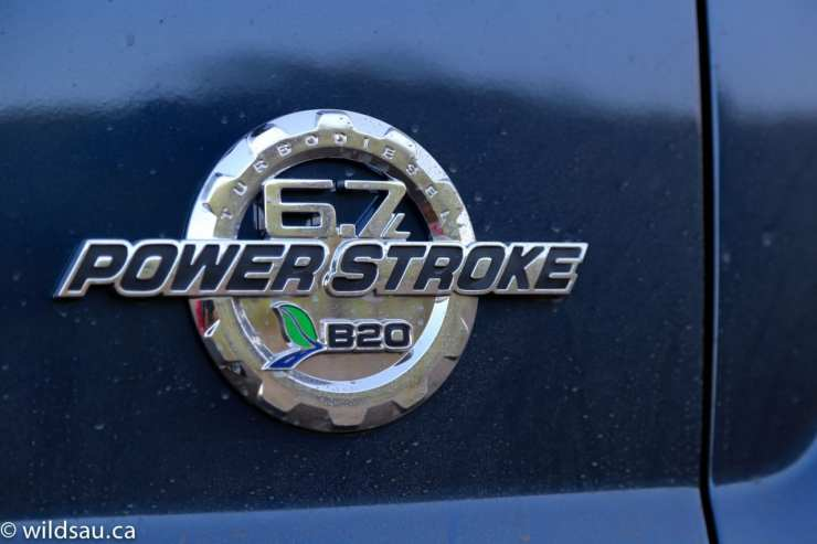 power stroke badge
