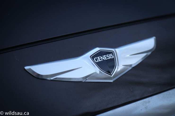 Genesis hood badge